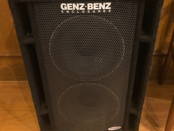 Renting out: Genz-Benz 2x12 Bass Cabinet Lightweight Neodymium Speakers