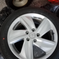 "Selling: Brand new 17"" Honda wheels"