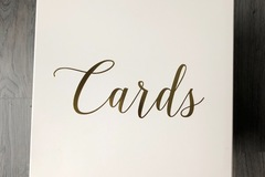 Ilmoitus: Laatikko korteille