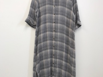 Selling: Linen Checked Dress