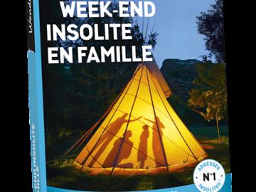 """Vente: Wonderbox """"Week-end insolite en famille"""" (99,90€)"""