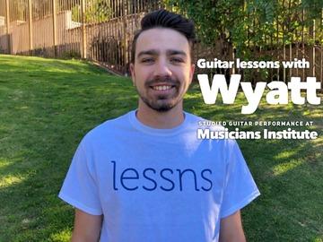 Guitar - 60 Minute: Guitar lessns (in-person or SKYPE/ZOOM) Musicians Institute Alum