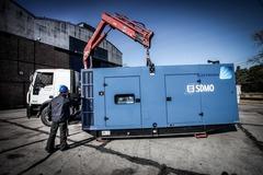 En alquiler: Grupo Electrógeno de 400 kVA por semana