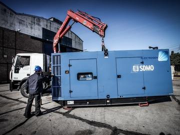 En alquiler: Grupo Electrógeno de 500 kVA por semana