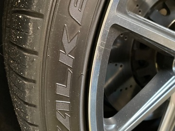 Selling: Vossen HF-3 wheels with Falken tires audi VW