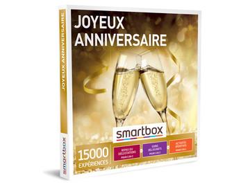 """Vente: e-coffret Smartbox """"Joyeux Anniversaire"""" (29,90€)"""