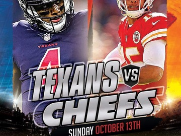 Free Events: Chiefs Lot J Tailgate - Chiefs vs Texans - 10/13 #ChiefsKingdom