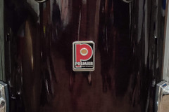 "Selling with online payment: 90's Premier Genista Birch ""Damask Red"" 16x16 Floor Tom In Good C"