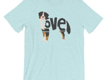 Selling: LoVe T-Shirt - Bernese Mountain Dog