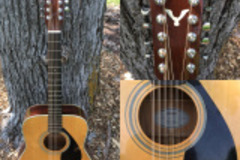 Renting out: Yamaha FG-420e 12-String Acoustic-Electric Guitar