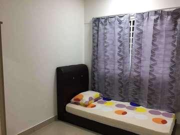 For rent (month): Room/Bed at Alam Sanjung, Shah Alam
