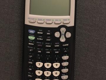 Myydään: Texas Instruments TI-84 Plus Graphing Calculator
