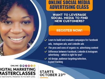 Workshop: Social Media Advertising - Online Digital Marketing Masterclass