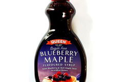 Products: Queen Sugar Free Blueberry Maple Flavoured Syrup
