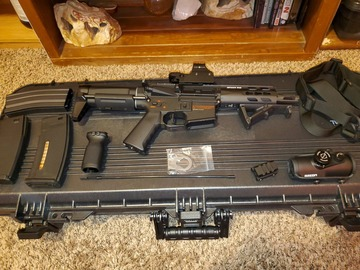 Selling: Krytac MK2 PDW plus accessories