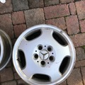 Selling: THREE Mercedes eltanin wheels 16x7.5 ET41