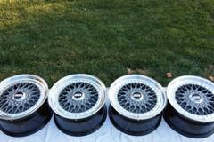 Selling: BBS RS 262/263 5x120 Nogaro Silver 17x8.5et29 17x9et35
