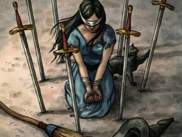 Selling: 8 of swords audio.. Are you feeling trapped?