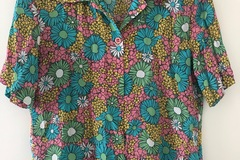 Selling: Floral silk shirt