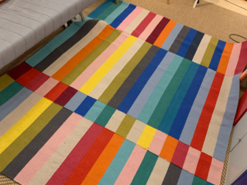 Selling: Colourful wool IKEA carpet