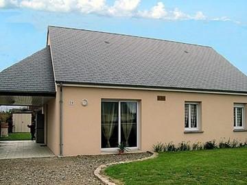 Location par semaine: Gîte F4 - Surtainville (80m²)