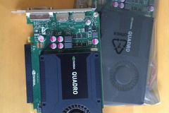 Myydään: Nvidea Quadro K2000 (graphics card) x 2