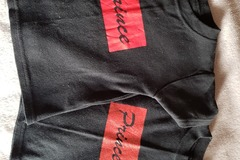 Selling with online payment: Prince and Princess T shirts, age 6-9 Mths