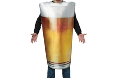 Myydään: A beer pint costume