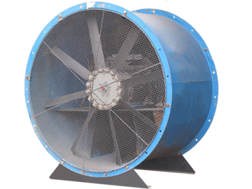 Weekly Equipment Rental: 1250mm Industrial Ventilator Fan