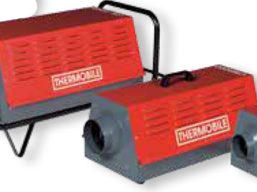 Weekly Equipment Rental: Industrial Electric Heater 15KW