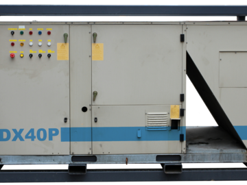 Weekly Equipment Rental: Air Conditioner 17KW Industrial Package