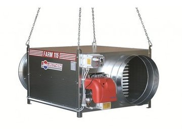 Weekly Equipment Rental: Indirect-Fired Diesel heater 175KW