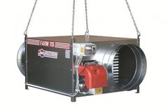 Weekly Equipment Rental: Indirect-Fired Diesel heater 175KW
