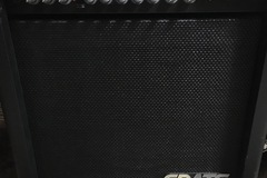 Renting out: Crate 25 Watt Bass Amp