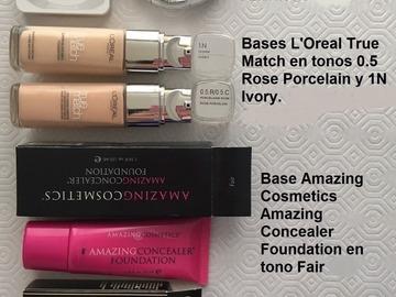 Venta: Bases maquillaje de 9 a 12€ cada una - Certificado incluido