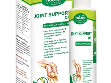 Buy Now: Naturez Ayurveda Joint Support organic Rubbing Oil - 700 pcs