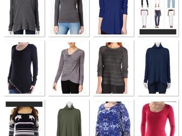 Buy Now: Free Shipping! Women's 30 Piece Fall/Winter Clothing Lot