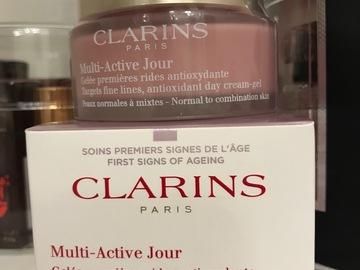 Venta: Multi active jour de clarins nueva