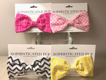 Make An Offer: OVER 300 PC. WHOLESALE LOT OF DOG BOW TIES - MSRP $3,620.98
