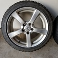 Selling: Set of 4 rims & winter tires