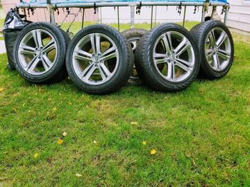 Selling: 18x8 VW Mallory Wheels/Tires