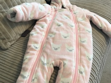 Selling with online payment: Snowsuit, age 3-6 Mths
