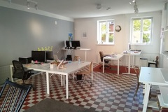 Vuokrataan: Free desk at Keitele Co-Working in beautiful Vallila 1.12.-
