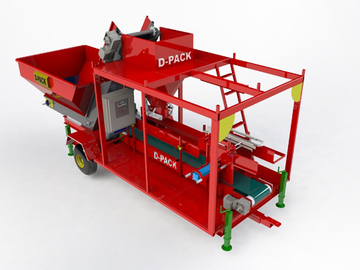 Vente: Maize Corn Silage Tmr Modular Packing Machine