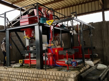 Vendre: Maize Corn Silage Tmr Base Double Packing Machine