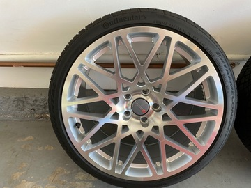 Selling: Hartmann HLP410 + Continental Extreme DWS 19x8.5