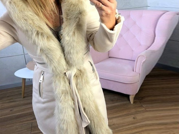 Vente avec paiement en ligne: automne manteaux et vestes femmes fausse fourrure hiver Parkas à