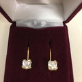 Buy Now: CZ Eurowire Earrings in gift box-- 5 styles-- $1.99 pr