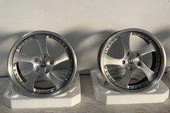 "Selling: HRE 19"" 542R wheels 3 piece"