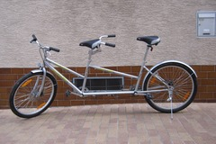 Tandem bicycle rental: Tandem Beach Cruiser Stuttgart